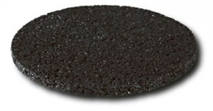 Regupol 7210C is a cost-effective rubber product manufactured from recycled materials.