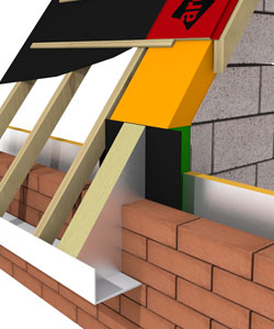 ARC T-Barrier and Pitched Roof System - Masonry
