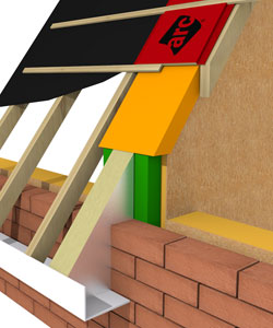 ARC T-Barrier and Pitched Roof System - Timber Frame