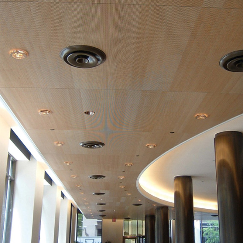 Decoustics Solo Soundproofing Timber Acoustic Planks - Ceiling Design