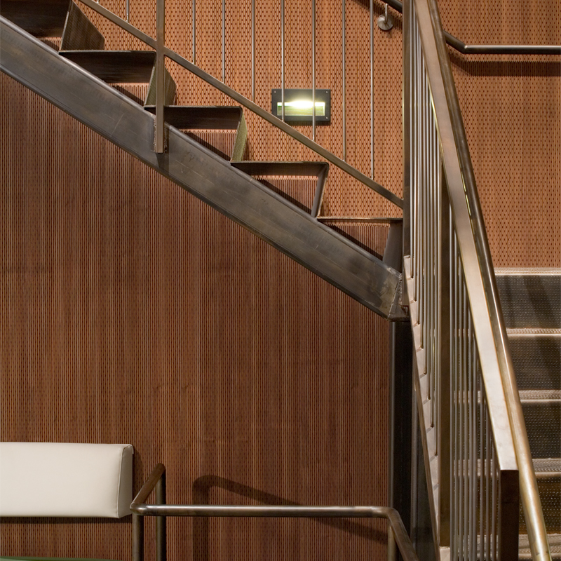 Decoustics Solo Soundproofing Timber Acoustic Planks - Staircase Design