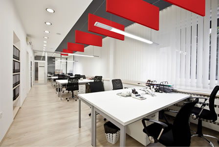 Bafflesorba Soundproofing Acoustic Suspended Ceiling Panels - Office