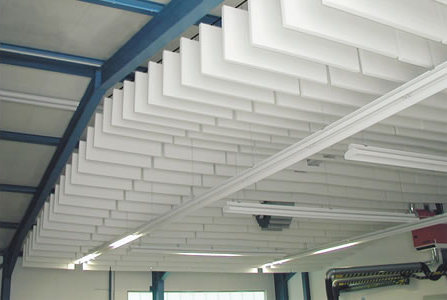 Bafflesorba Soundproofing Acoustic Suspended Ceiling Panels - Hall