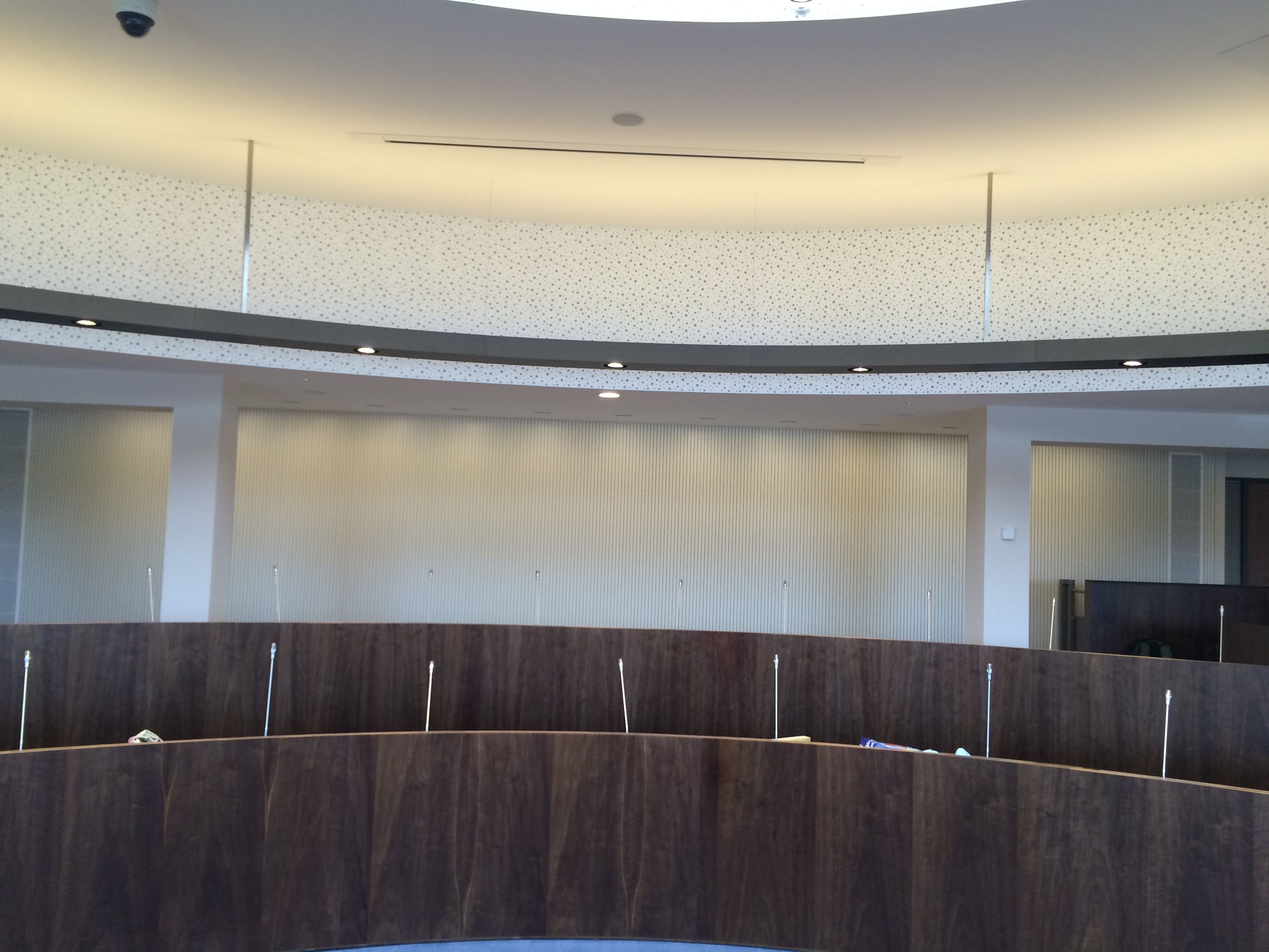 Armagh City Banbridge Craigavon Council - Council Chambers - VoglFuge Soundproofing Acoustic Ceiling
