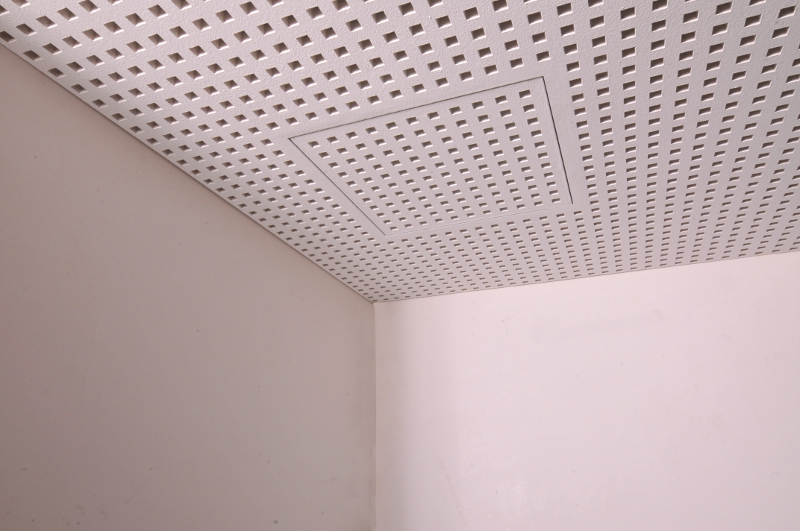 Vogl Acoustic Ceiling - Access Panel Closed