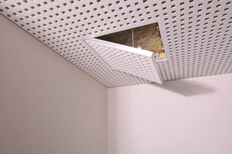Vogl Acoustic Ceiling - Access Panel Open